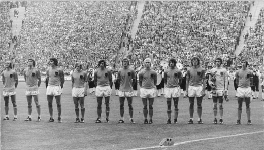 Netherlands National Football Side, 1974