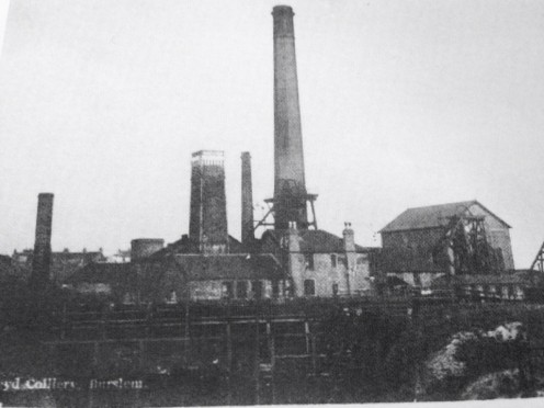 This is the colliery where Sara's husband worked,