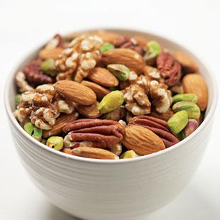 Try peanuts with chicken, or walnuts with shrimp