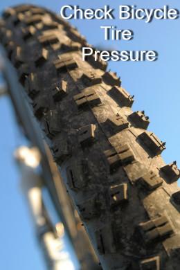 Check Bike Tire Pressures