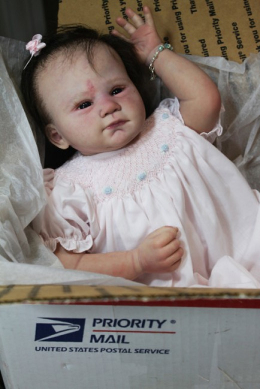 While it is doubtful whether babies were ever shipped in priority mail boxes, many infants were mailed across country in the care of postal clerks on freight cars.