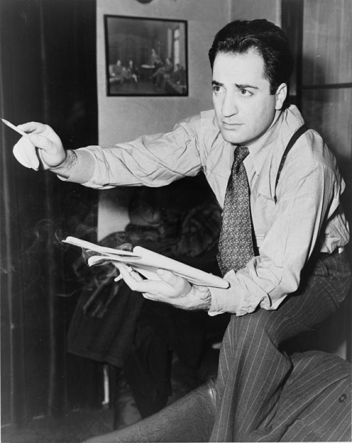 William Saroyan in 1940. Saroyan was Armenian in heritage and involved the histories of California Armenians in his writing and other projects.