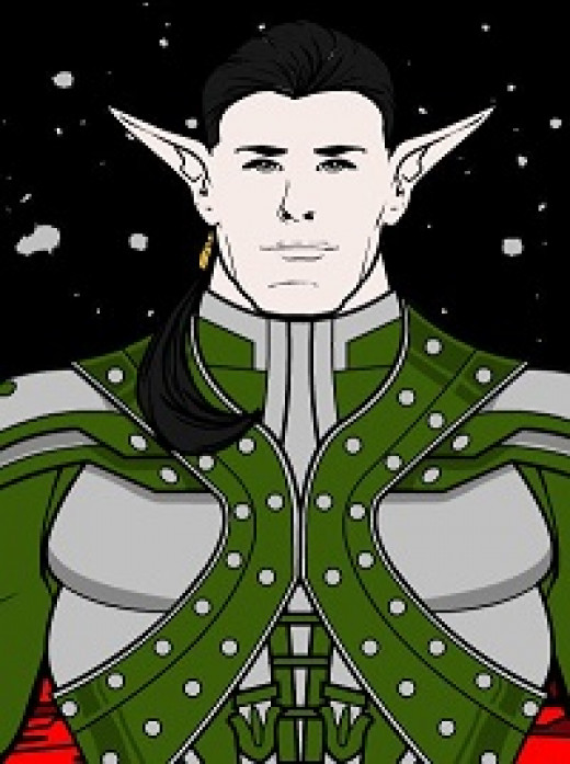 The Elvish Prince Alvar