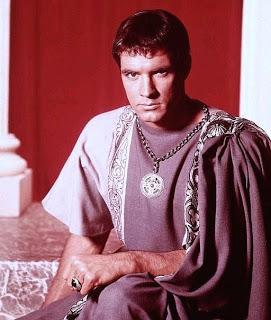 Gavin as Julius Caesar in the movie Spartacus.
