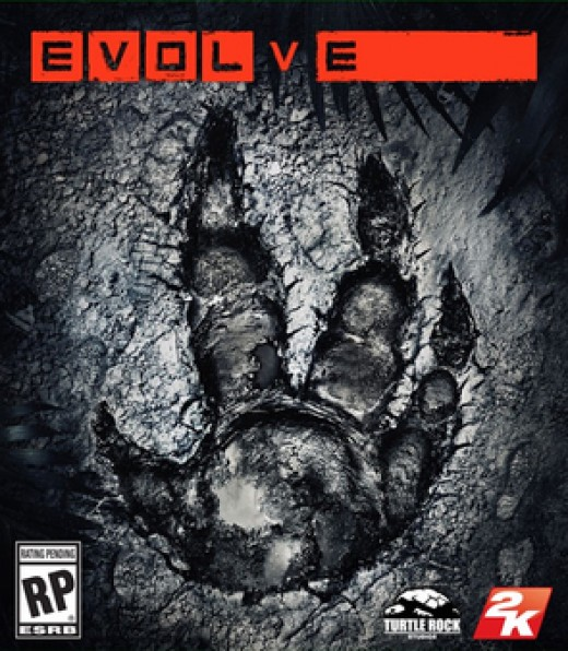 Evolve video game box art