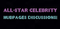 All-Star Celebrity Hubpages Discussions - the TV show!