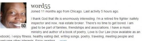 Poet Word 55 http://word55.hubpages.com/