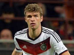 Thomas Muller in the match