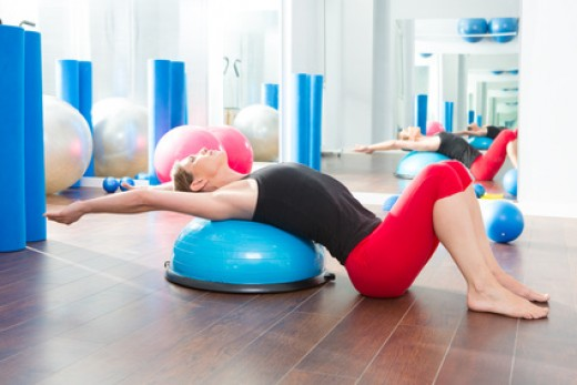 Thoracic Extensions for lower back pain relief