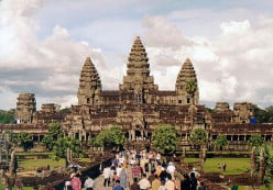 Angkor Wat Temple In Cambodia – A Major Tourist Attraction