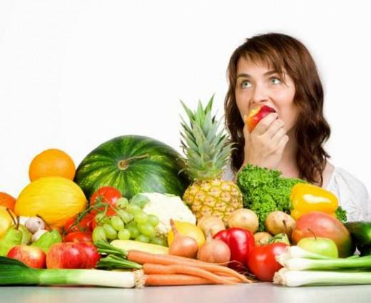 A balanced diet helps reduce hair fall
