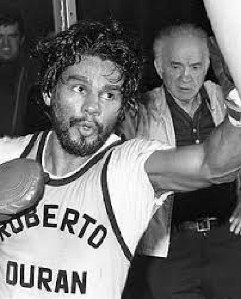 Roberto Duran is a legendary Boxer who has won championships in 4 different weight divisions.