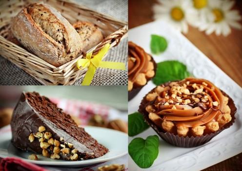 Food photography using natural light