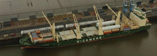RICKMERS JAKARTA  Superflex heavy multi-purpose ship The eastbound Round-the-World Pearl String Service was launched ten years ago, connecting Europe, Asia and North America.