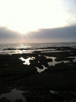 Enjoying life and life's free moments...Sunset at Point Reyes National Seashore.