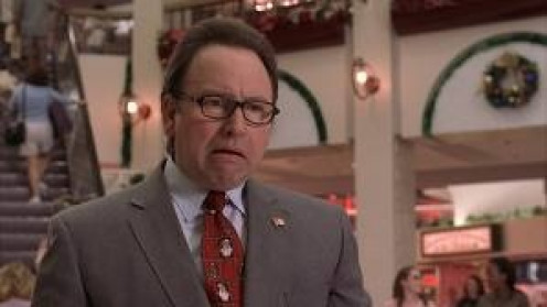 John Ritter's last live action movie was Bad Santa which was released in 2003. Ritter played a shopping mall manager who acted very weird to say the least.