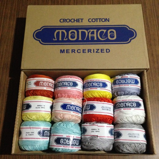 Crochet yarns from Divisoria