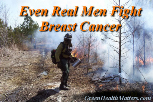 Even real men fight breast cancer