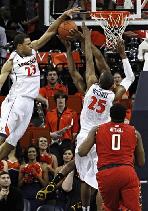 Virginia junior forward Justin Anderson (left) will be so much fun to watch...