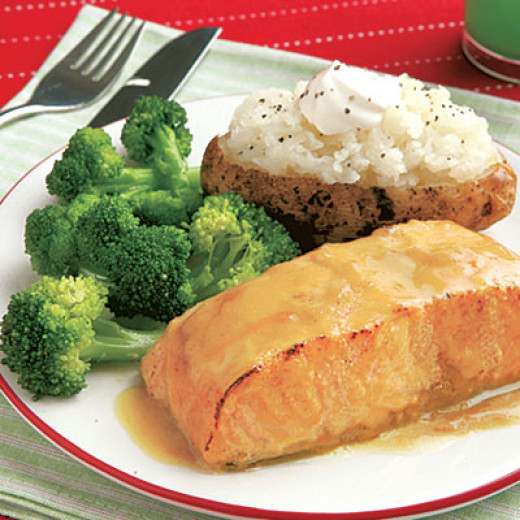 Include protein and veggies in your meals