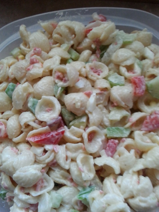 Simply Delicious Macaroni Salad