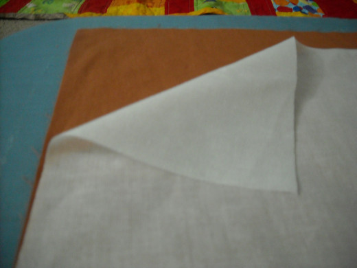 2 part 2: Lay down the interfacing