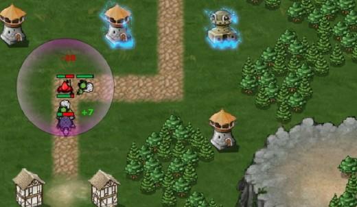Villainous game-play screenshoot