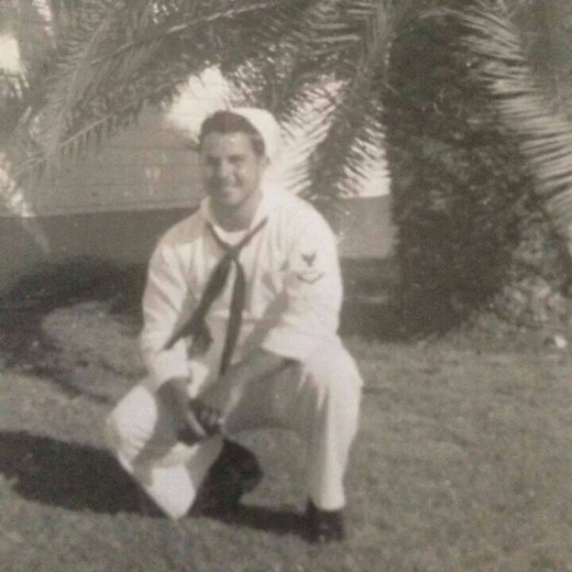 My grandfather in the Navy.