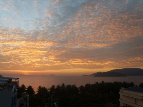 Sunset at Nha trang