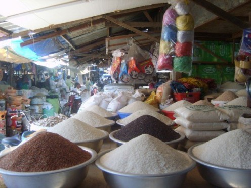 Spices at the market in Nha Trang