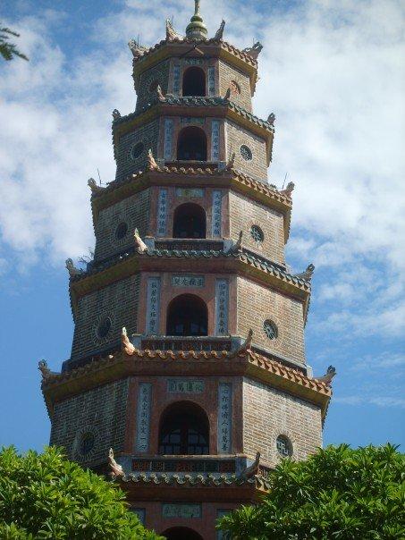 Hue old pagoda