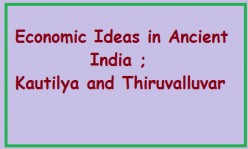 Economic Thought in Ancient India; Kautilya and Tiruvalluvar