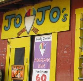 Jo Jo's Famous Shave Ice Shop, Waimea Town