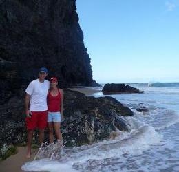 Romantic Hanakapiai Beach