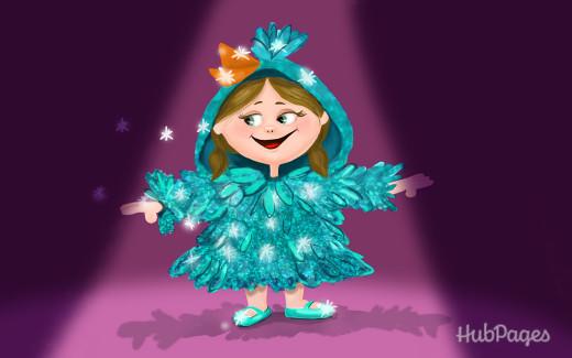 Glitter Bird!