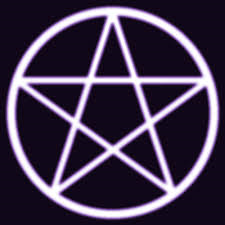 This is a typical Wiccan pentagram commonly used for meditation or for protection.