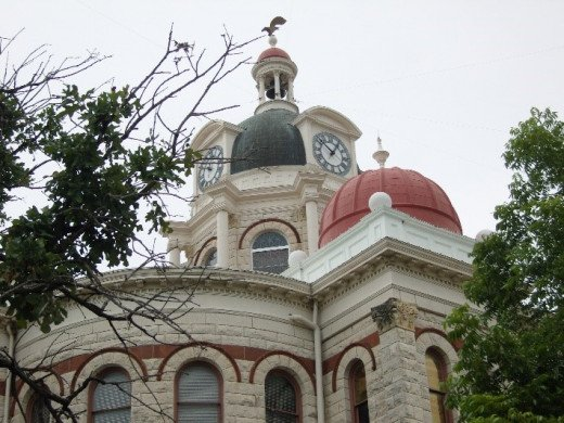 The dome of the courthouse