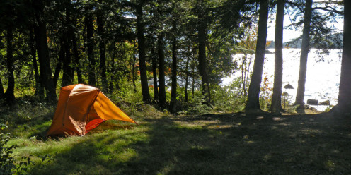 Camping on the Northville-Placid Trail