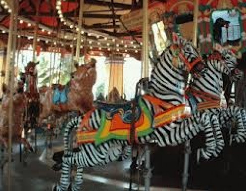 The Merry Go Round is a great family attraction for kids and adults.