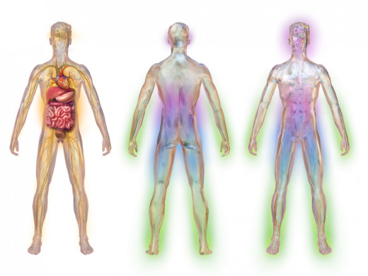 Illustration depicting areas affected by diabetic neuropathy