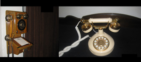 Rotary Phones Were Used For Service