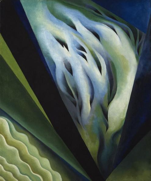 Blue and Green Music, Georgia O'Keeffe, 1921