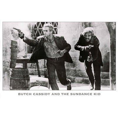 Butch Cassidy Sundance Kid Paul Newman Movie Poster
