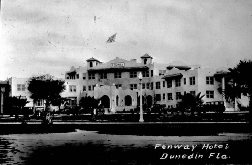 Old photo of the Fenway Hotel