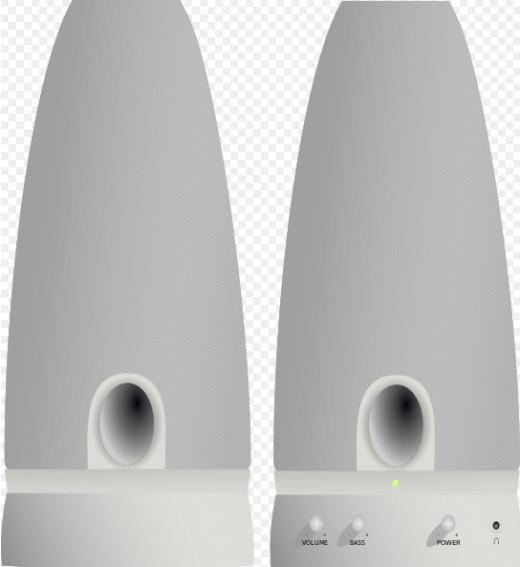 Sample computer speaker set