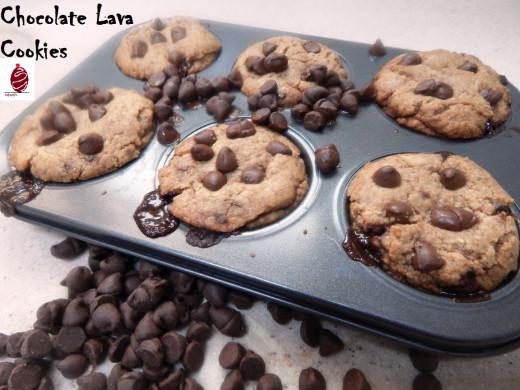 chocolate lava cookies