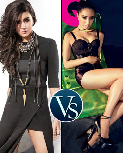 The fresh faces of Bollywood Alia Bhatt and Shraddha Kapoor are all set to rule with their bold black avatars as they cover latest issues of leading fashion magazines. Tell us who you find more sexy? Shraddha or Alia? @BiscootShowtym.