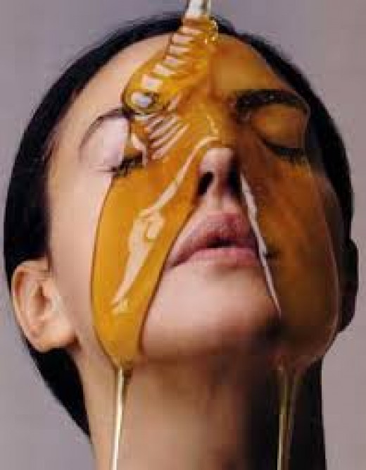 290 × 371 Search by image Honey has been referred to as liquid gold because of all of it's health benefits. Honey is just as amazing for the skin when applied topically, .