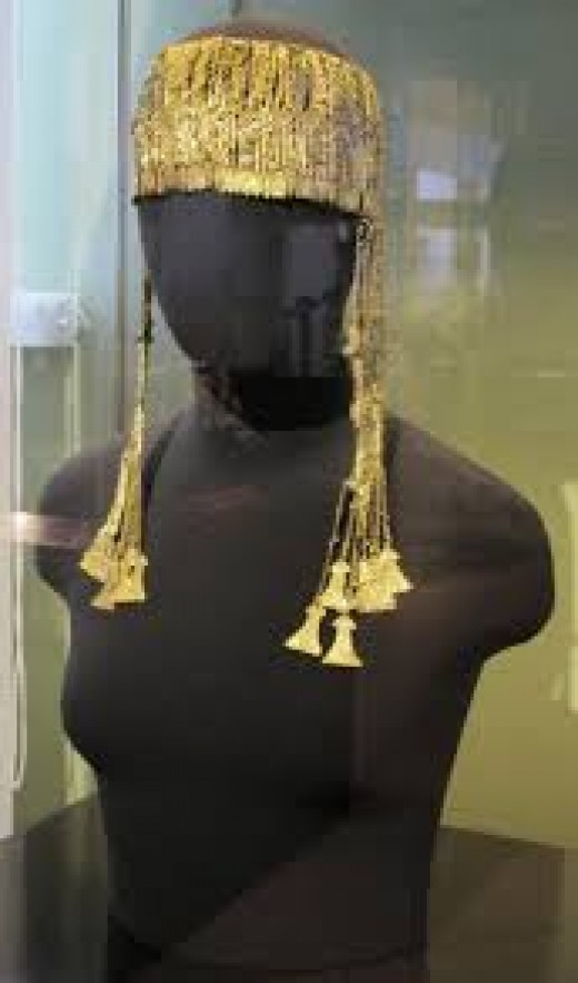 Priam's Treasure - The Jewels Of Helen Of Troy - Canakkale Museum, Turkey