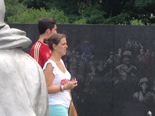 KOREAN WAR VETERAN MEMORIAL WALL
